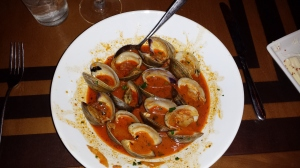 Steamed Florida Cedar Key Clams with Chorizo Sausage, Fennel, and Smoked Paprika
