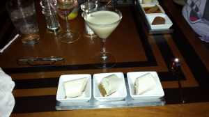 Gluten-Free Carrot Cake with a Chocolate Martini