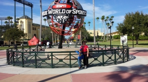 Marshall and Mommy at Wide World of Sports