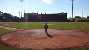 Home plate!