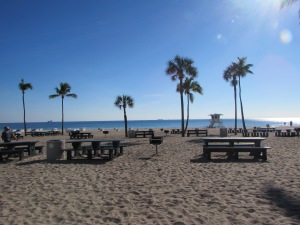 Fort Lauderdale beach!
