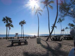 More beach....